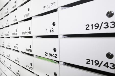 caixas de correio de condom