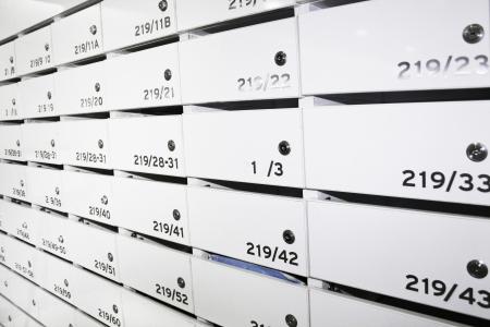 condominium mailboxes Фото со стока