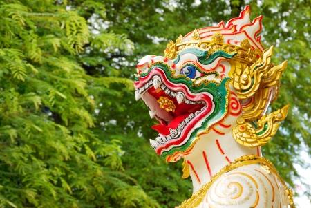 retouched: Hanuman statue retouched