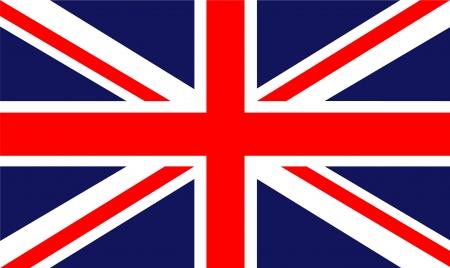England-Flagge Standard-Bild - 22866223