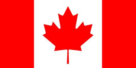 Kanada-Flagge Standard-Bild - 22866225