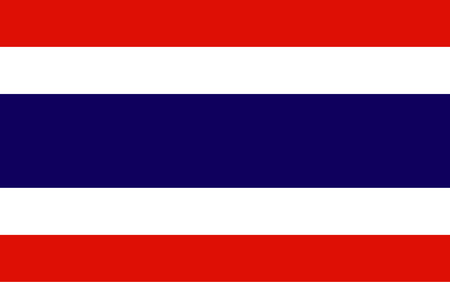Kingdom of Thailand Flag vector