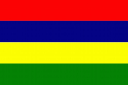 mauritius: original and simple Mauritius flag isolated vector in official colors