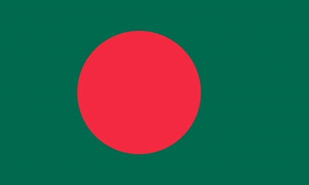 bangladesh: original and simple Bangladesh flag isolated vector in official colors and Proportion Correctly