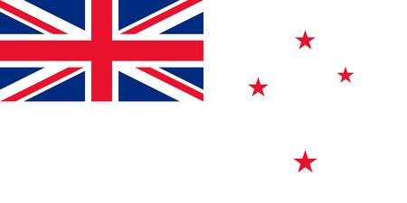 bandeira de Nova Zel Ilustra��o