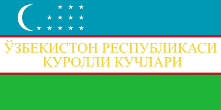 proportion: original and simple Uzbekistan War flag isolated vector in official colors and Proportion Correctly Illustration