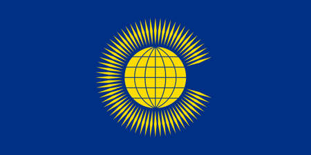 proportion: original and simple Commonwealth of Nations  CIS  flag isolated vector in official colors and Proportion Correctly