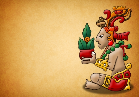 mayan prophecy: Mayan lord of the woods - god - prophecy