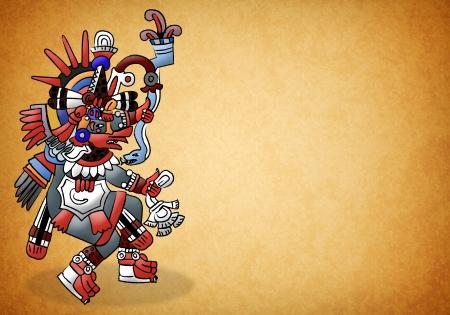 Quetzalcoatl mayan - aztec deity - god