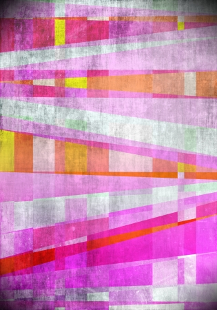Pink art abstract tiles background Stock Photo - 15413685
