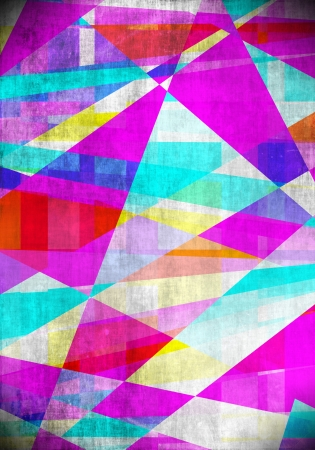 Artistic abstract tiles background Stock Photo - 15930204