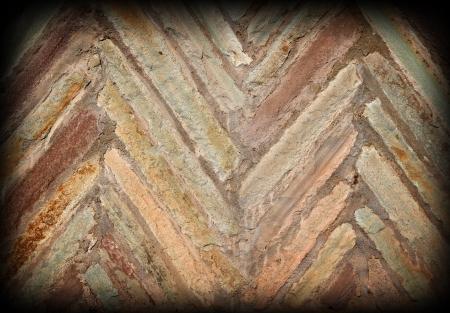 corrosion: Stone brick wall background  Stone texture  Stock Photo