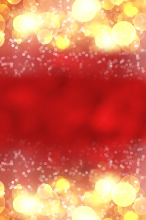 Shiny red color background blurred