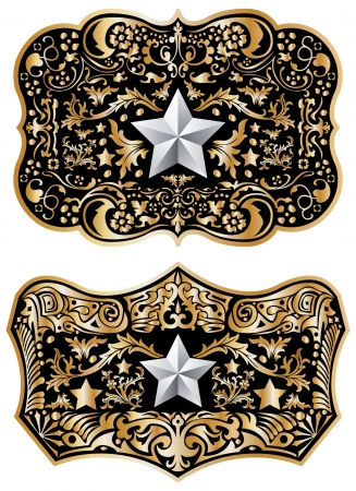 belt buckle: Cowboy belt buckle  design