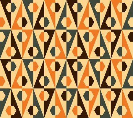 seamless: Geometrical patterns - seamless vector