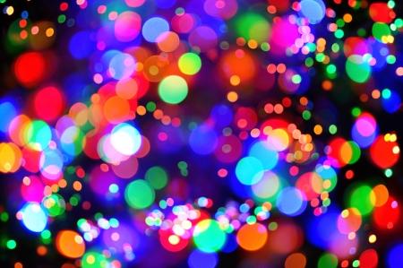 Colorful celebration lights Banque d'images
