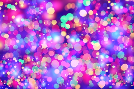Girly Colorful lights composition
