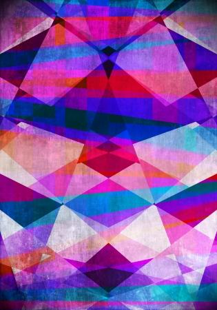 earthy: Earthy artistic geometric background texture Stock Photo