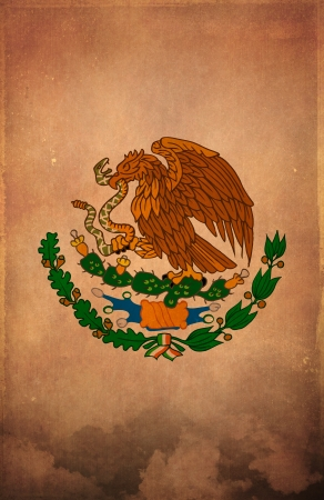 Mexican Grunge poster background - card - design Stockfoto