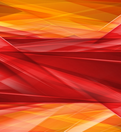 Modern Crystal red and yellow prism background Imagens