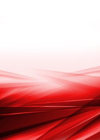 Resumen rojo y fondo blanco Foto de archivo - 21781013