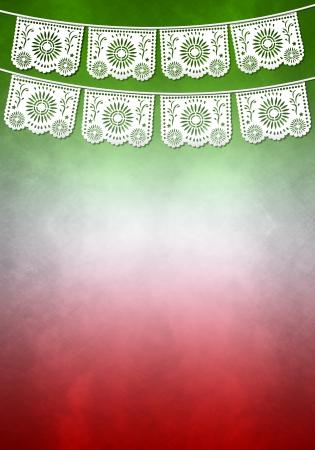 Mexicaanse decoratie affichemalplaatje - exemplaar ruimte
