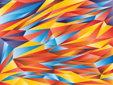 Colorful abstract design template - background vector