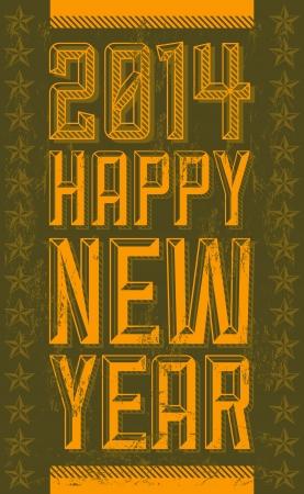 beginnings: Vintage Happy new year 2014