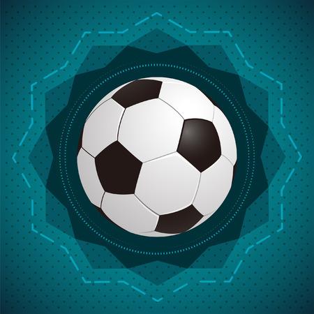 football  soccer  vector icon - badge