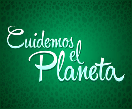 care: Care for the Planet spanish text