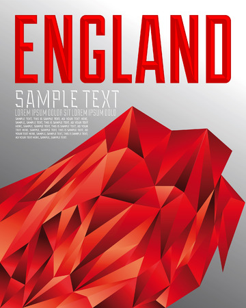 english culture: England geometric background