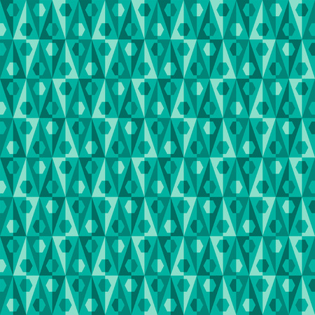 Seamless abstract pattern with triangles Vector
