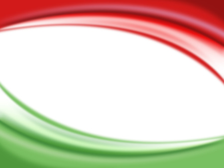 Red and green color background ready for your text, Modern Mexico - Italy background