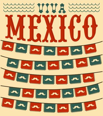 holiday: Viva Mexico - mexican mustache holiday