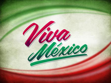 bandera de mexico: Grunge del vintage Cartel viva mexico
