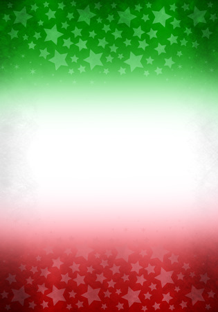 mexican flag: Vintage grunge Mexico - Italy background, ready for your text