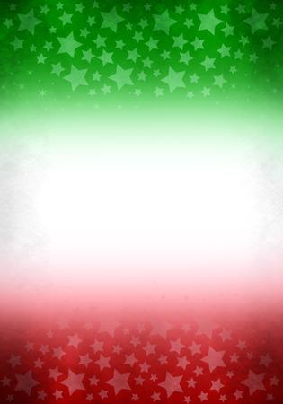 drapeau mexicain: Vintage grunge Mexique - Italie fond, prêt pour votre texte Banque d'images