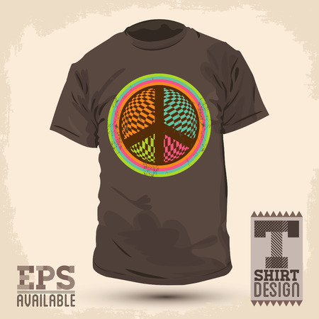 t shirt design: Vintage Graphic T- shirt design