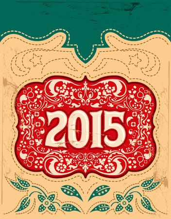 buckle: 2015 New Year holidays design - western style - cowboy belt buckle