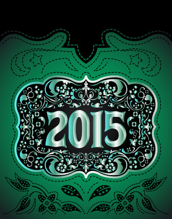 tack: 2015 New Year holidays design - western style - cowboy belt buckle