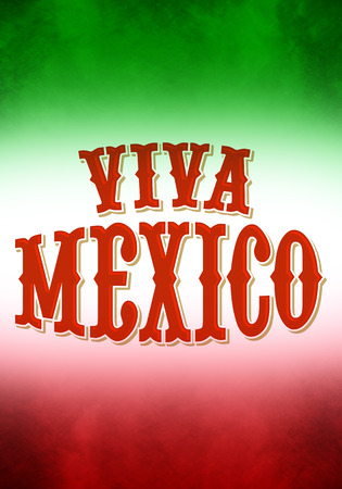 president of mexico: Vintage grunge viva mexico poster - ready for your text