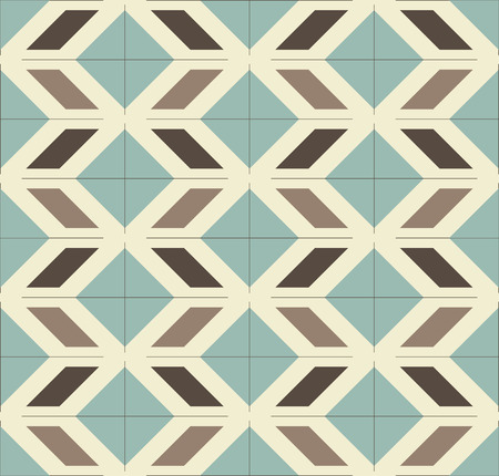tillable: Vintage Mexican geometrical pattern - seamless vector design