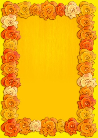mexican background: Day of the dead poster with traditional cempasuchil flowers used for altars, Mexican holiday background.