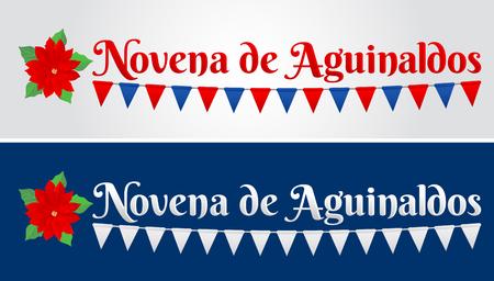 Novena de aguinaldos, Ninth of Bonuses Spanish text, Christmas tradition in Colombia and Latin american