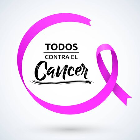Todos Contra el Cancer, All Against Cancer Spanish tex Breast Cancer Awareness Month.