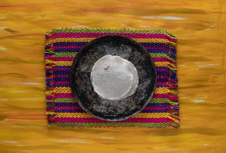 Mexican Comal Cookware flat Griddle used to cook Tortillas.