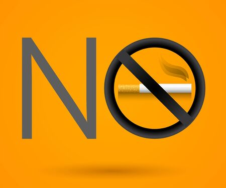 No Smoking vector sign illustration. 向量圖像