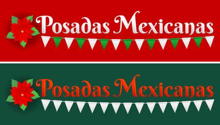 Posadas Mexicanas, Posadas is a Mexican Traditional christmas Celebration, December holiday.