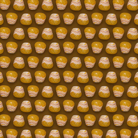 Yellow Gemstones Pattern on background, color Stones composition. Zdjęcie Seryjne