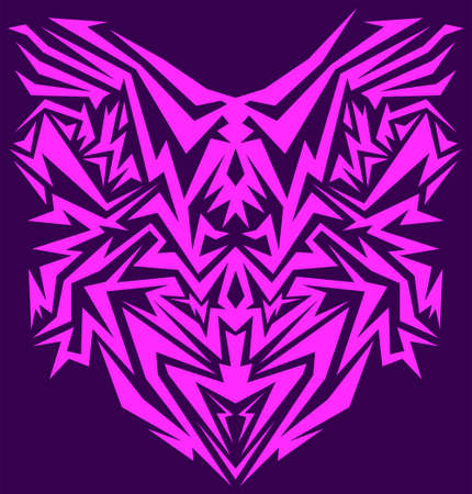 Cyber abstract intricate vector, Tecno lines design.